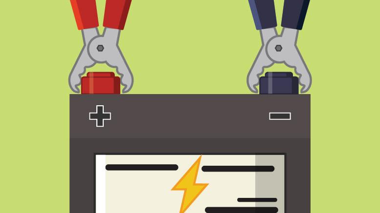 jak naładować akumulator prostownikiem?
